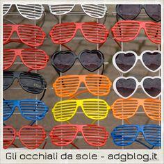 Gli occhiali da sole: 4 attività di italiano L2/LS