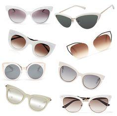 7a1c86ac576 White Cat Eyes. Gucci Sunglasses ...