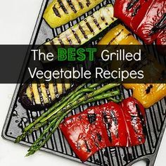 Get the barbecue ready for these amazing grilled vegetable recipes! -- See the yummy recipes and cookbooks at http://www.reviewcompareit.com/ksry