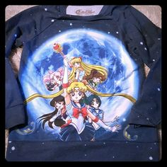 Sailor moon lightweight long sleeve Sailor moon lightweight long sleeve sweater  Hot topic Cartoon Sweaters