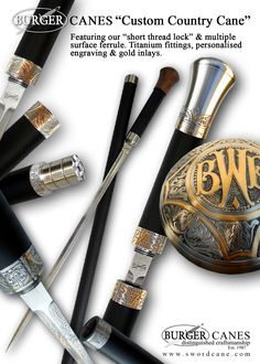Welcome to the Official Web Site of Burger Sword Canes-Walking Sticks -  Country Cane