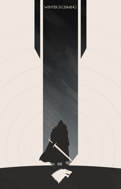 Game of Thrones Banner  Photoshop CS5 - 2 hours Prints: www.redbubble.com/people/noble…