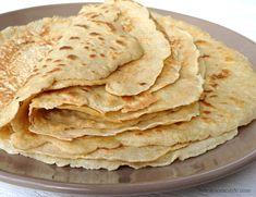 Gluten free Tortilla & Burrito Wrap Recipe - Oat flour, blender batter.