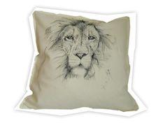 LEW recznie malowany 50x50 w W.pelni Design na DaWanda.com