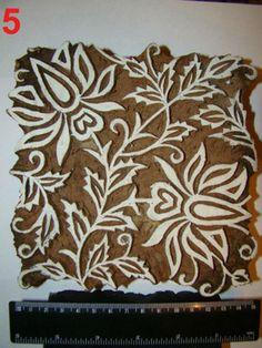 indian print blocks - Google Search Indian Block Print, Indian Prints, Indian Art, Textiles, Textile Prints, Wood Stamp, Tampons, Paisley Design, Wooden Blocks