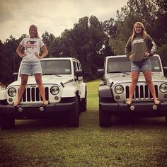 @katieburdetteee and her Mom  @jennburdette Rocking our JeepHer apparel.  Jeep Hair Don't care Tee and our #JeepHer hoodie!  Looking great ladies!! www.jeepbeef.com is where you shop for our apparel and merchandise. Apparel partner @allsportsetc #Padgram