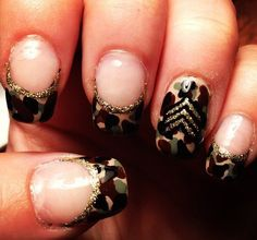 Modern Nail Art Designs that Are Too Cute to Resist Military Nails, Army Nails, Marine Nails, Camo Nail Designs, Nail Polish Designs, Nail Art Designs, Camouflage Nails, Usa Nails, Patriotic Nails