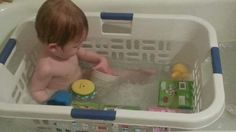 "Bathing time of infants to evolve in the ""laundry basket"" / 「洗濯カゴ」で乳幼児のお風呂タイムは進化する"