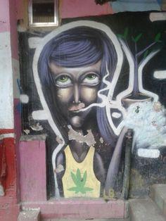 Rio de Janeiro - Dona Marta favela's street art