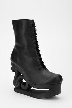 Jeffrey Campbell Skate Leather Boot