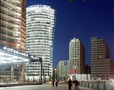 First of many shots of inspiration for the soon to be constructed model of Potsdamer Platz