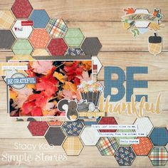 Layout from creative team member Stacy Koo using our Hello Fall collection