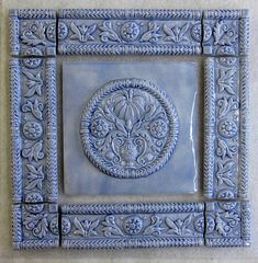 ButterMold tile Deco Panel MADE TO ORDER by FarRidgeCeramics
