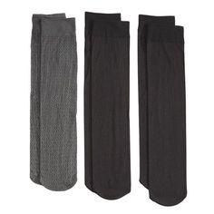 Chain Pattern Fashion Trouser Sock