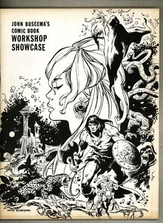 John Buscema's Comic Book Workshop Showcase