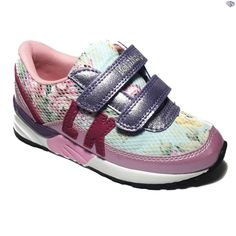 New Lelli Kelly LK9810 Rose Girls Summer 2016 Velcro Trainers Rosa Size 26 - 35