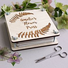 I've just found Personalised Botanical Flower Press. Create memories and spend quality time with loved ones with this personalised flower press. Dahlia Flower, Flower Art, Creative Gifts, Unique Gifts, Stock Design, Very Beautiful Flowers, Blotting Paper, Memorial Flowers, Wooden Flowers