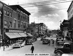 Sudbury's Fine 'Past & Future' Let's Reminisce: Sudbury, Ontario Sudbury Canada, Manitoulin Island, Christ The King, Canada Travel, Quebec, Ontario, Roots, Cities, Street View