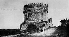 Via Appia Antica – Mausoloe di Cecilia Metella e Castrum Caetani Anno: fine 800