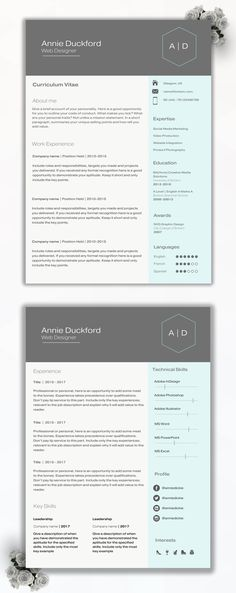Capsule 50 discount (Code Churchill) CV Design CV Template - microsoft template for resume