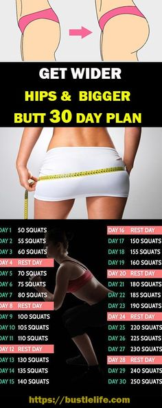 Get Wider Hips & Bigger Butt 30 Day Plan – Fitness Motivation - Water - Wider hips workout - Fitness Herausforderungen, Fitness Workouts, Fitness Motivation, Big Ass Workouts, Dance Fitness, Body Workouts, At Home Workout Plan, At Home Workouts, Workout Plans