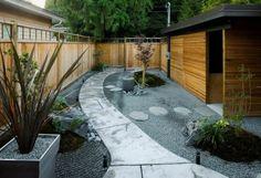 diseño estilo oriental jardin zen