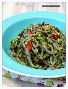 숙주나물 2배더 고소하고 향긋하게 무침하는법,녹두나물무침 – 레시피 | 다음 요리
