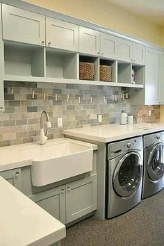Laundry room idea, one day! #LGatBBC @Lori Bearden Gustafson @Matty Chuah SITS Girls