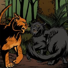 Fireheart meets Yellowfang