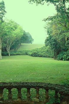 Lunuganga, experimental home garden of the Sri Lankan architect Geoffrey Bawa, outside Bentota, Sri Lanka. Started in 1947 and evolved until 1998.