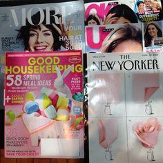 More, Good Housekeeping, OK, UsWeekly, The New Yorker: magazines #freestuff #freebies #samples #free