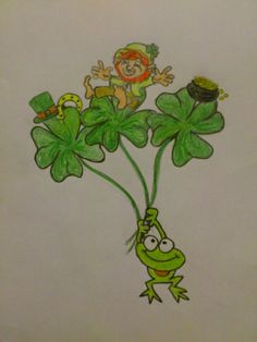 Drawing- Luck of the Irish Luck Of The Irish, Drawings, Fictional Characters, Art, Blogging, Art Background, Kunst, Sketches, Performing Arts
