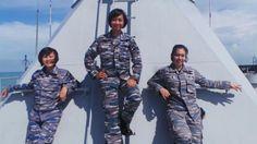 PHUKESBER: Tiga Perempuan Cantik di KRI Banda Aceh, Mereka bu...