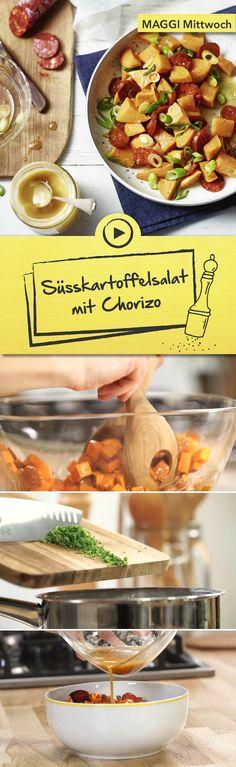 sua kartoffelsalat mit chorizo