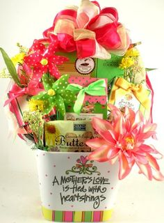 Moms Unending Love Gourmet Cookies and Treats Womens Gift Basket for Her ** Click the VISIT button for great gift idea