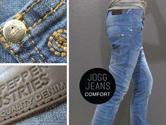 #bluepepper #joggjeans #jongens Low Crotch voor alle seizoenen - Nu ook in onze online shop: www.bluepepperind... #denim#jeans#spijkerbroeken#kinderkleding#mode#kindermode