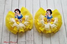 Shopkins Wishes Hair Bow Shopkins Birthday por MaddieHatterBowtique Ribbon Art, Ribbon Crafts, Ribbon Bows, Baby Hair Clips, Baby Girl Headbands, Headband Hair, Diy Hair Bows, Diy Bow, Disney Bows
