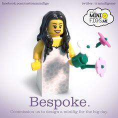 Custom Lego Bride and Groom