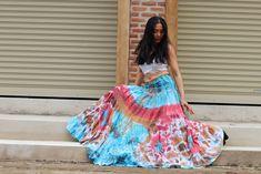 Tie Dye Skirt /Boho Tie Dye Skirt/ Long Skirt / Long Boho Skirt / Maxi Skirt / Full Length Skirt / Boho Beach Skirt / Modest Skirt / Cotton Wedding Dresses, Formal Dresses For Weddings, Boho Wedding Dress, Boho Dress, Cotton Dresses, Modest Skirts, Long Maxi Skirts, Boho Skirts, Full Length Skirts