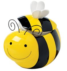 Awesome Busy Little Bee Treat Jar #229 601 : Freshness Is All The Buzz With