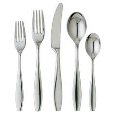 Ginkgo Skandia 20-piece Stainless Steel Flatware Set