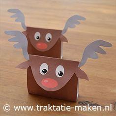 Traktatie: Red nosed reindeer