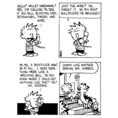Calvin And Hobbes Quotes, Calvin And Hobbes Comics, Calvin And Hobbes Wallpaper, Im Moving On, Uncle Scrooge, Boring Day, Cross Stitch Fairy, Words Of Encouragement, Dungeons And Dragons
