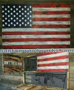 Best Of American Flag Gun Cabinet