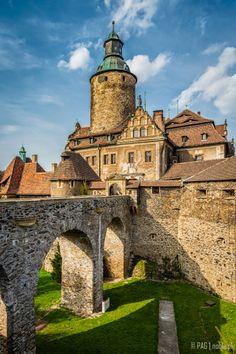 Czocha Castle (Schloss Tzschocha), Upper Silesia, Poland