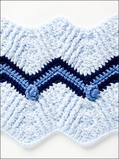 50 Ripple Stitches - Crochet Pattern