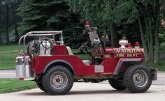 Willys Jeep CJ-3. MotoBurg