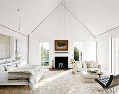 Modern Bedroom by Simon Jacobsen and Jacobsen Architecture in Nantucket, Massachussetts