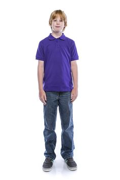 ALL Polo Little Boy's Short Sleeve 3 Button Plain Polo Shirts for Boys, Size 8, Purple. NOT ALL POLO SHIRTS ARE MADE THE SAME. Fashion trends are changing fast these days. This is a timeless and classic fitting polo shirt never going out of style. This polo shirt features breathable fabric, durable pique knitting, double needle construction, color matched buttons with an EXTRA button included. THIS POLO SHIRT WAS CREATED WITH CUSTOMERS IN MIND. Few notable key features include garment…