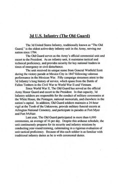 1996-06-17-CoC-Honor Guard Company-Poch-Book 01-07 | by Old Guard Museum